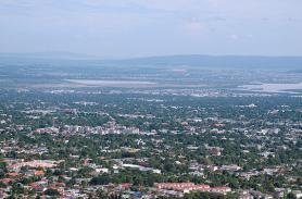 Jamajka - město Kingston
