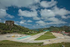 Letiště karibského ostrova Svatý Bartoloměj