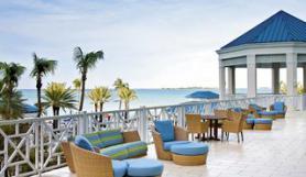 Bahamský hotel Melia Nassau Beach Resort s terasou