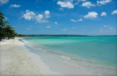 Jamajka - jedna z pláží