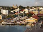 Hlavní město Antigui - Saint John´s