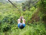 Karibský ziplining